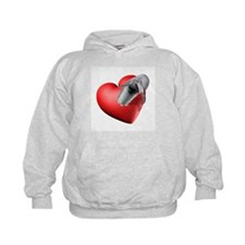 I Heart Dolphins Hoodie