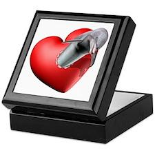 I Heart Dolphins Keepsake Box