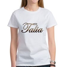 Gold Talia T-Shirt