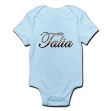 Gold Talia Body Suit