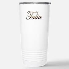 Gold Talia Travel Mug