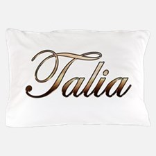 Gold Talia Pillow Case