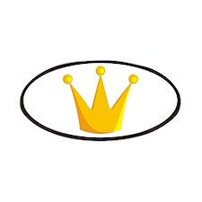 cartoon crown Patch