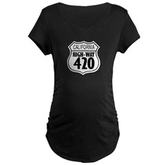 California High-Way 420 T-Shirt
