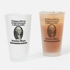 Washington Used Guns Drinking Glass