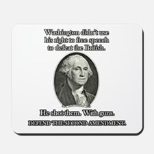 Washington Used Guns Mousepad