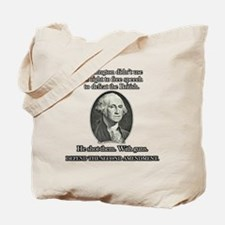 Washington Used Guns Tote Bag