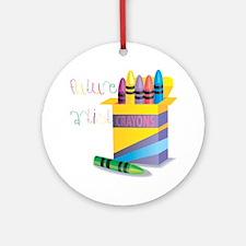 Future Artist Ornament (Round)