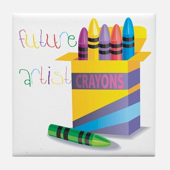 Future Artist Tile Coaster