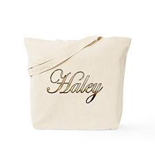 Gold Haley Tote Bag