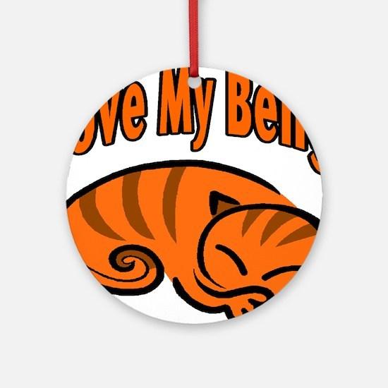 Bengal Cat Ornament (Round)