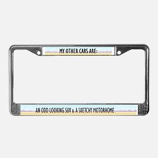 Walter White License Plate Frame
