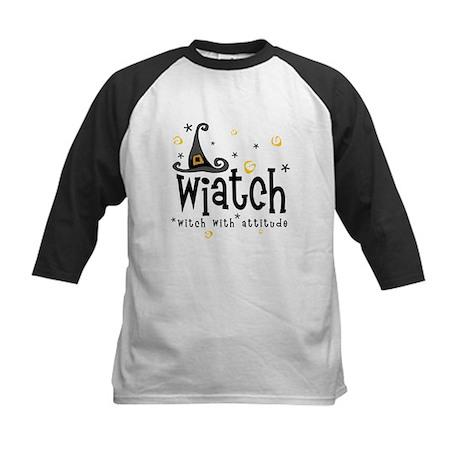 """Wiatch"" [black] Kids Baseball Jersey"