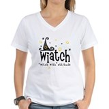 Biatch t shirts womens Womens V-Neck T-shirts