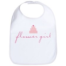 Flower Girl (Cake) Bib