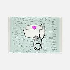 Cute Nursing graduation Rectangle Magnet (10 pack)