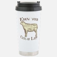 Funny Yarn sheep Travel Mug