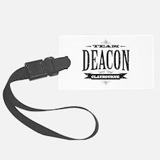 Team Deacon Claybourne Luggage Tag