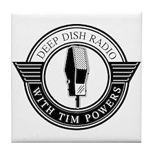 Cute Podcast Tile Coaster