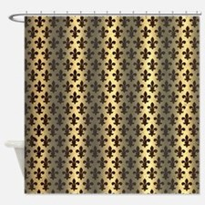 Lords And Ladies Fleur De Lys Shower Curtain