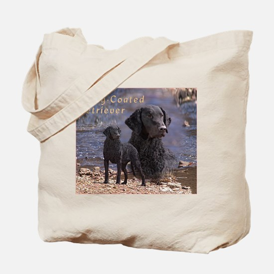 Curly Coated Retriever-2 Tote Bag