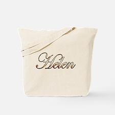 Gold Helen Tote Bag
