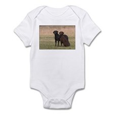 Curly Coated Retriever-5 Infant Bodysuit