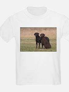 Curly Coated Retriever-5 T-Shirt