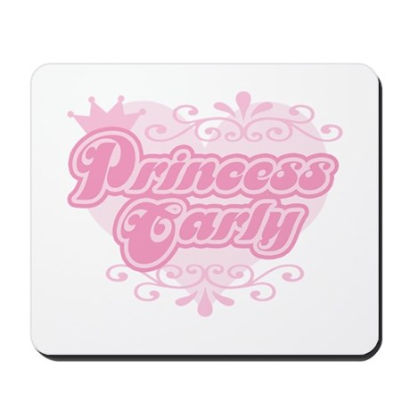 """Princess Carly"" Mousepad"