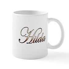 Gold Hilda Mugs