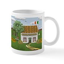 St. Patrick's Day Cottage Mug