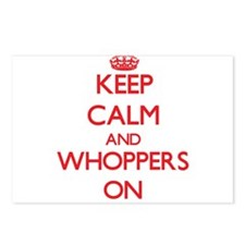 Keep Calm and Whoppers ON Postcards (Package of 8)