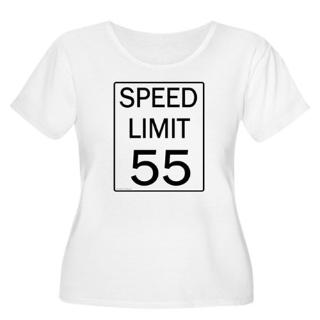 Speed Limit 55 Shirts and Gif Women's Plus Size Sc