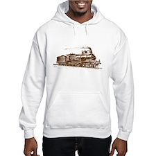 Vintage Steam Locomotive Hoodie