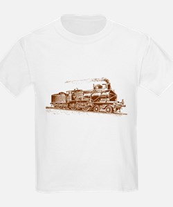 Vintage Steam Locomotive T-Shirt