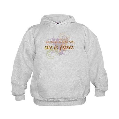 She is Fierce - Swirl Kids Hoodie