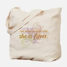 She is Fierce - Swirl Tote Bag