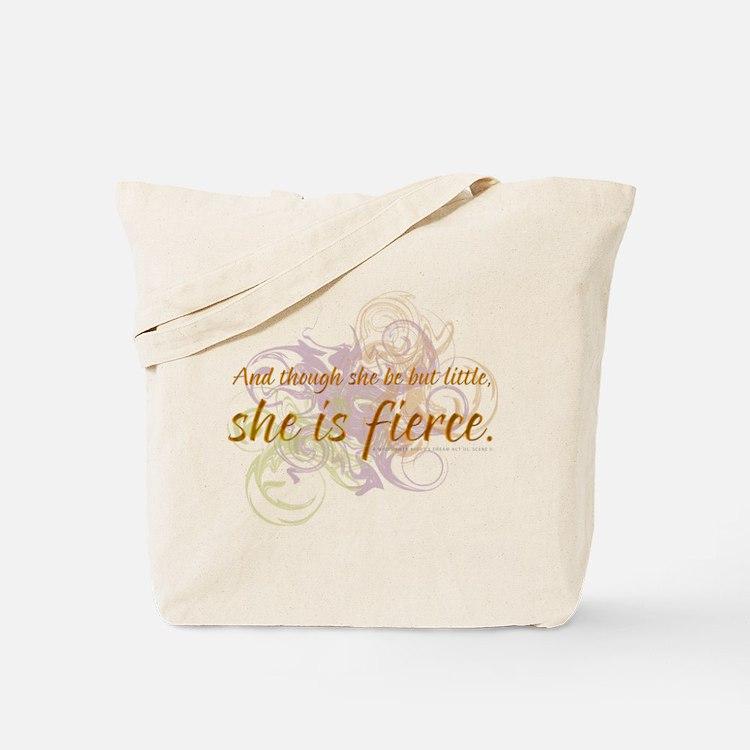 She is Fierce - Swirl Tote Bag