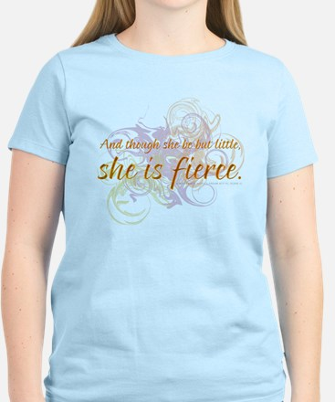 She is Fierce - Swirl Women's Light T-Shirt