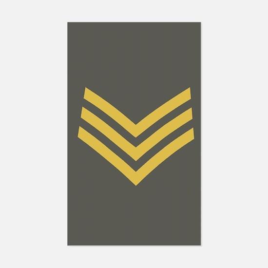 Royal Marines Sergeant<BR> Sticker 1