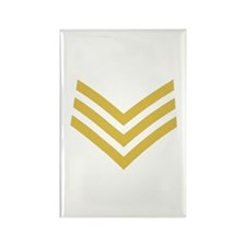 Royal Marines Sergeant<BR> Rectangle Magnet