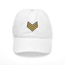 Royal Marines Sergeant<BR> White Baseball Cap