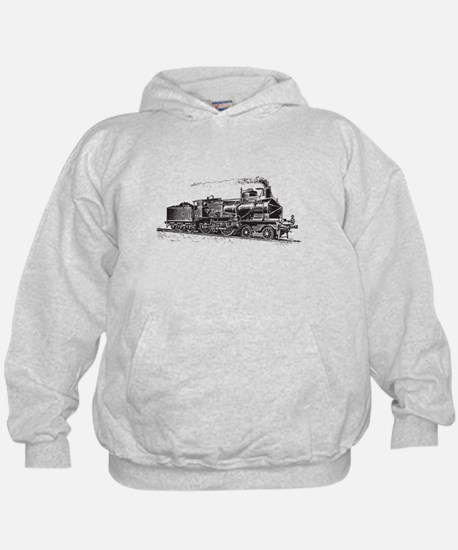 Vintage Steam Locomotive Hoodie