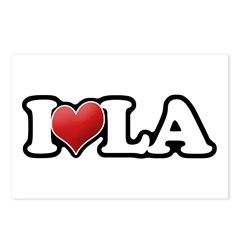 Classic I heart LA Postcards (Package of 8)