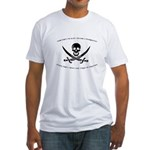 Pharmacy Pirate Fitted T-Shirt