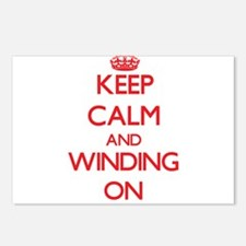 Keep Calm and Winding ON Postcards (Package of 8)