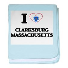 I love Clarksburg Massachusetts baby blanket