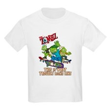Funny Zombie kids T-Shirt