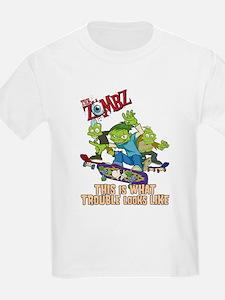 Cute Kid zombie T-Shirt