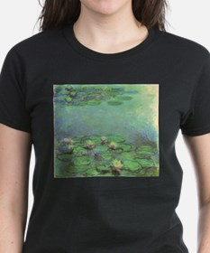 Waterlilies by Claude Mone T-Shirt